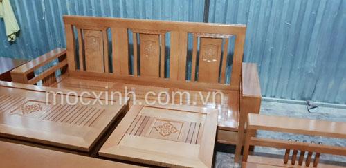 BÀN TRÀ bộ bàn ghế gỗ tay đơn hoa tây