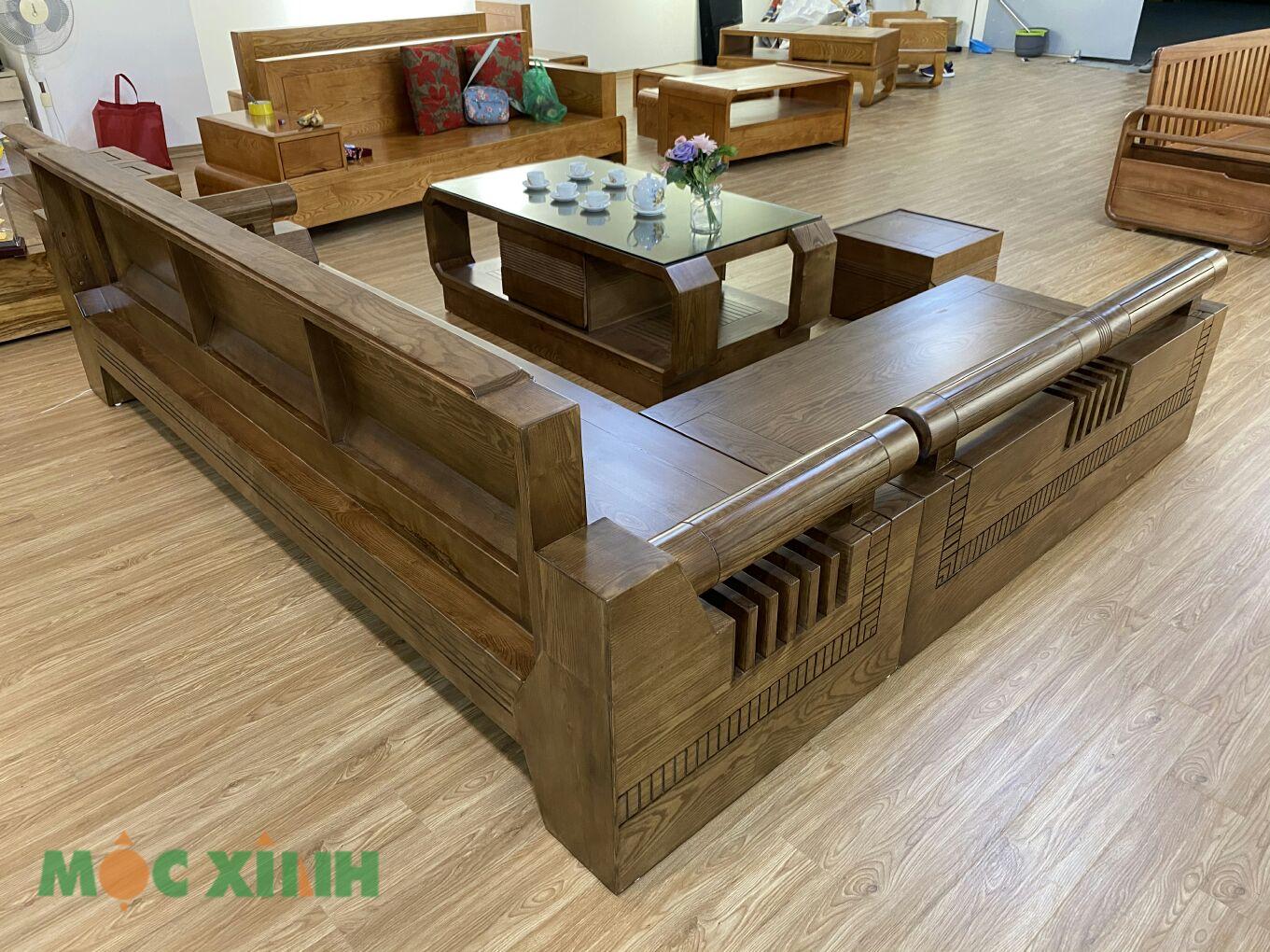 Bộ bàn ghế phòng khách phù hợp với nhiều không gian