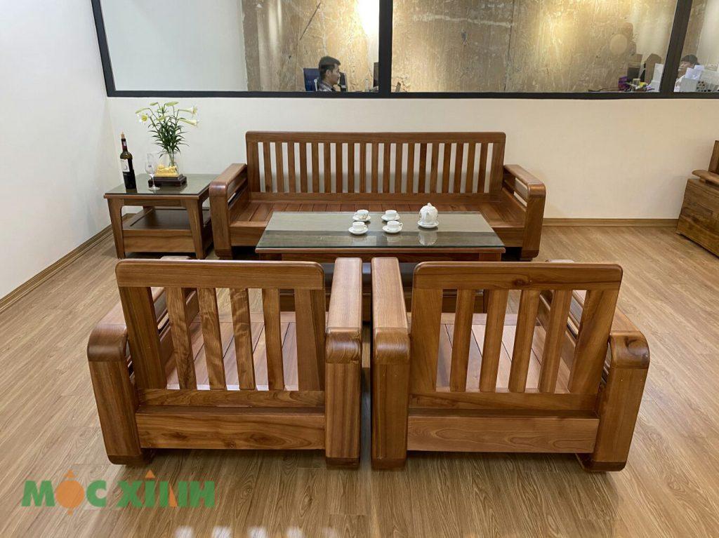 Mẫu bàn ghế phòng khách bắc âu tay vòng